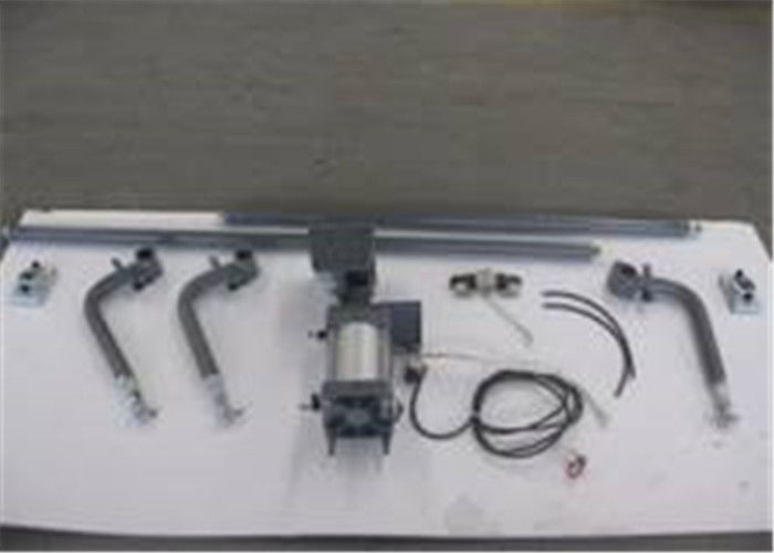 Air Cylinder Driving Automatic Bus Door Mechanism , Two Or Four Arms Bus Door Parts