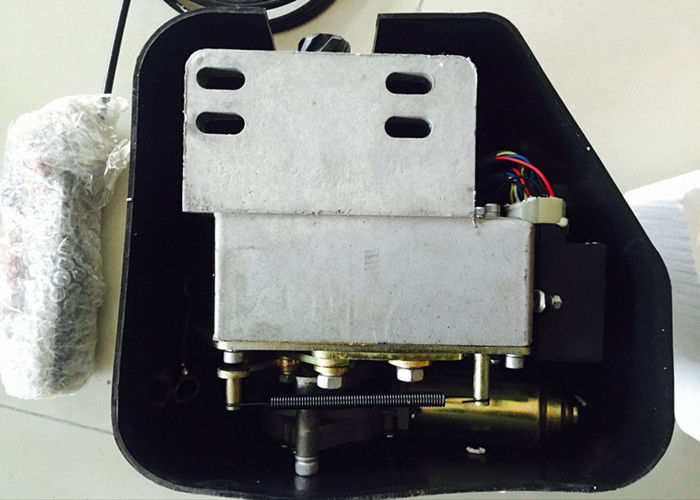 Right And Left Open Bus Door Mechanism , Welding Motor Bus Door Systems